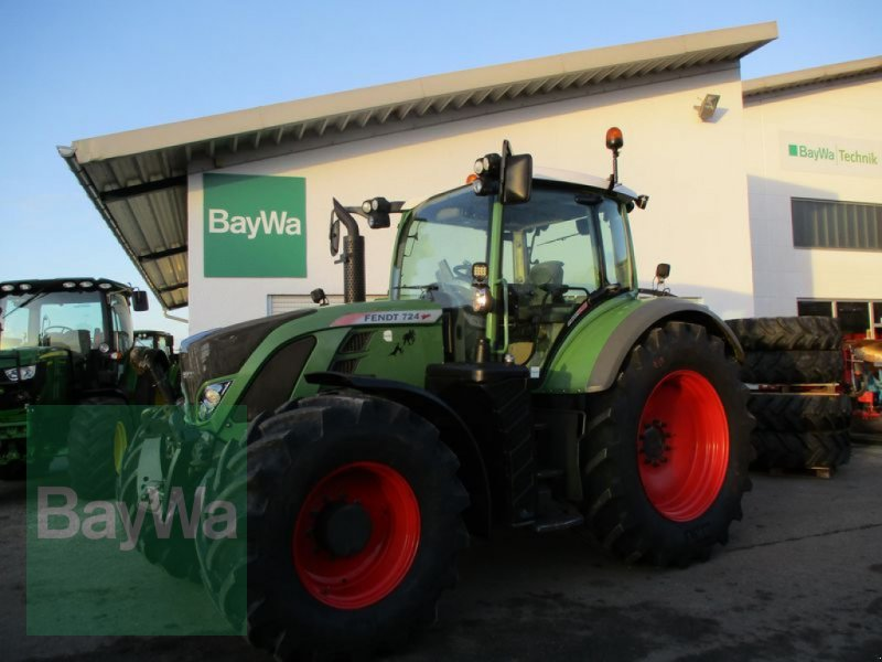 Traktor des Typs Fendt 724 VARIO SCR PROFI PLUS #136, Gebrauchtmaschine in Schönau b.Tuntenhausen (Bild 1)