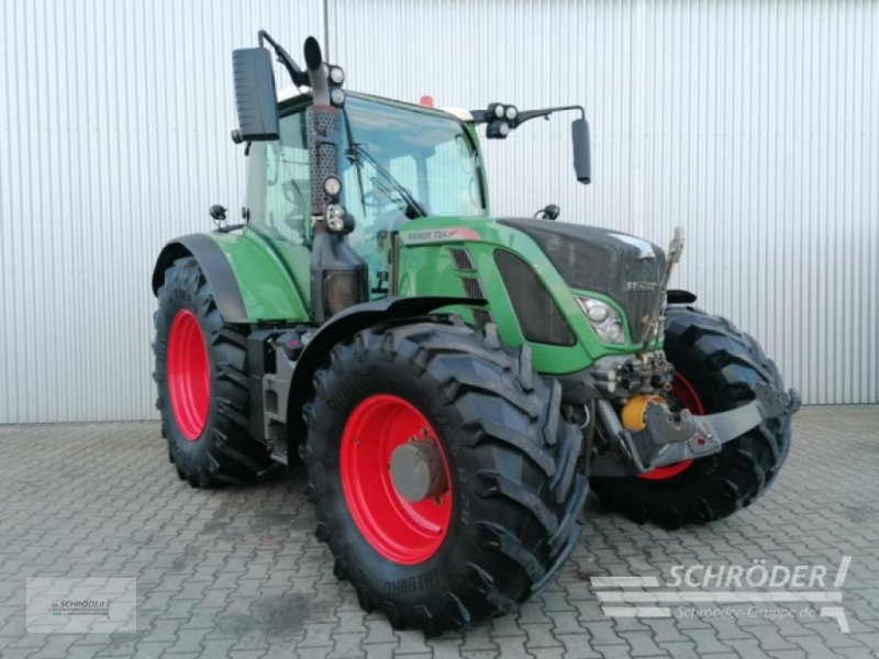 Traktor des Typs Fendt 724 Vario SCR Profi Plus, Gebrauchtmaschine in Wildeshausen (Bild 1)