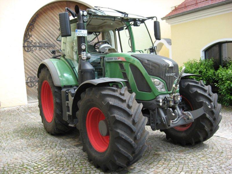 Traktor des Typs Fendt 724 Vario SCR, Gebrauchtmaschine in Velburg (Bild 11)