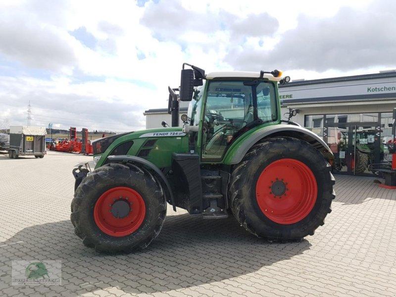 Traktor des Typs Fendt 724 Vario, Gebrauchtmaschine in Münchberg (Bild 1)