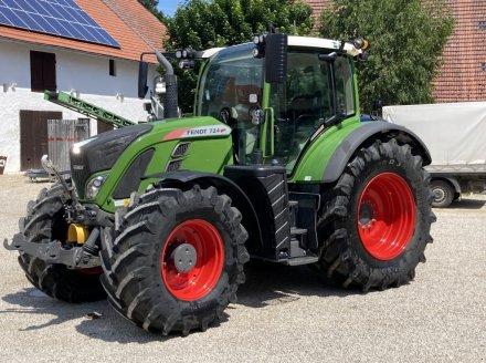 Traktor a típus Fendt 724 Vario, Gebrauchtmaschine ekkor: Oberlauterbach (Kép 1)