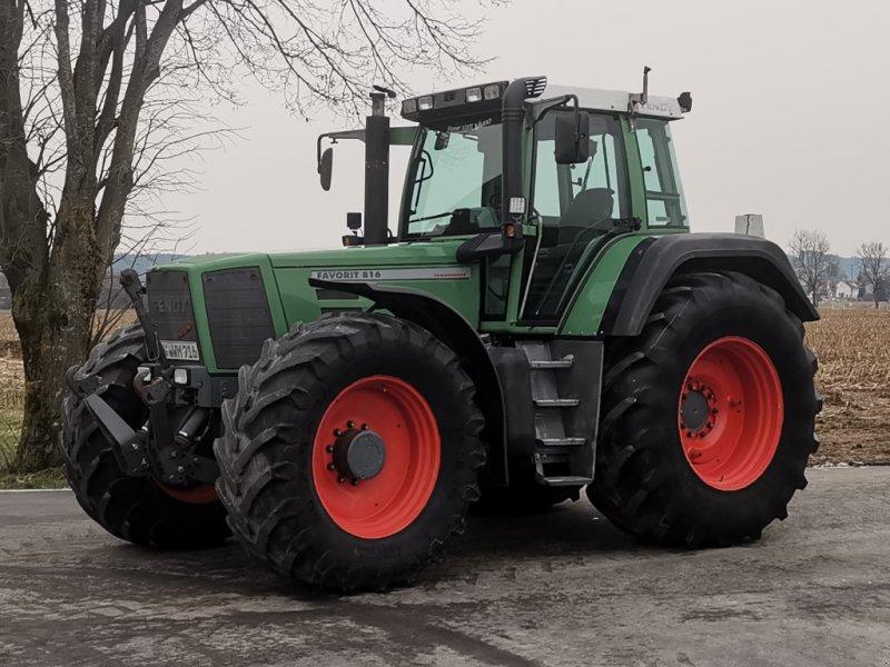 Traktor des Typs Fendt 816 Favorit, Gebrauchtmaschine in Aichstetten (Bild 1)