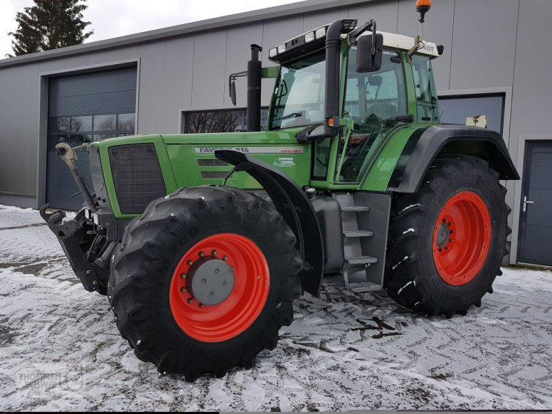 Traktor typu Fendt 816 Favorit, Gebrauchtmaschine w Crombach/St.Vith (Zdjęcie 1)