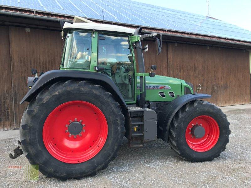 Traktor des Typs Fendt 817 Vario  TMS, Gebrauchtmaschine in Gollhofen (Bild 1)