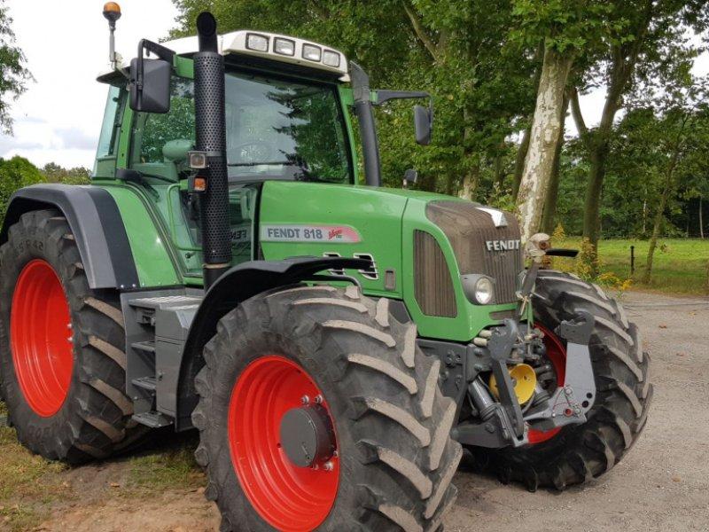 Traktor типа Fendt 818 Com3 Vario TMS, Gebrauchtmaschine в Bergen op Zoom (Фотография 1)
