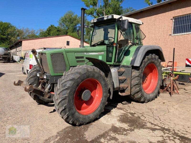 Traktor des Typs Fendt 818 Favorit, Gebrauchtmaschine in Salsitz (Bild 1)