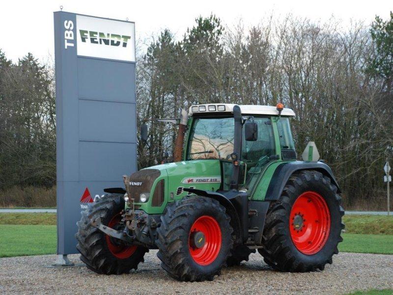 Traktor του τύπου Fendt 818 TMS med frontlift og PTO, Gebrauchtmaschine σε Grindsted (Φωτογραφία 1)