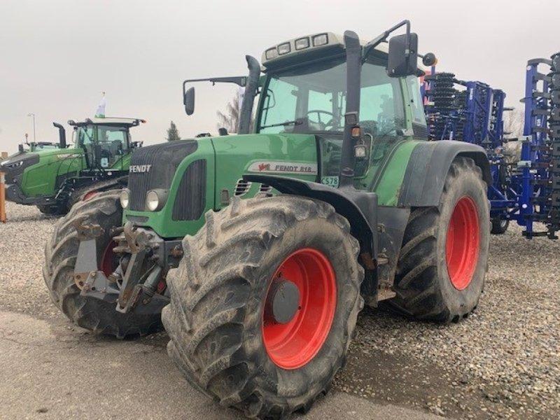 Traktor του τύπου Fendt 818 TMS Vario, Gebrauchtmaschine σε Sakskøbing (Φωτογραφία 1)