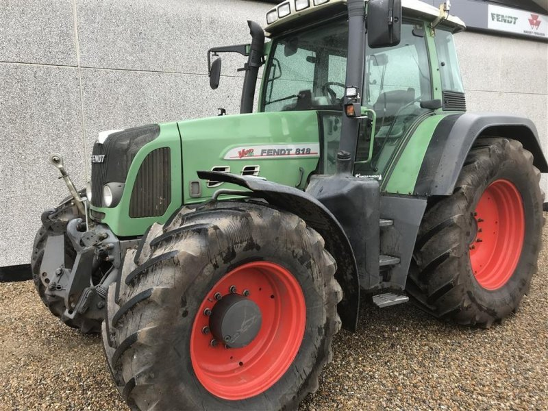 Traktor του τύπου Fendt 818 Vario TMS, Gebrauchtmaschine σε Holstebro (Φωτογραφία 1)