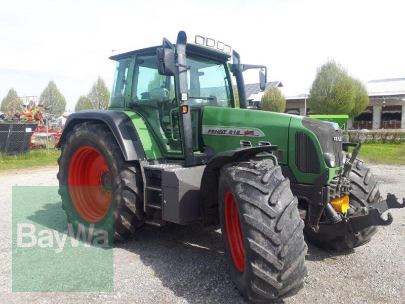 Traktor του τύπου Fendt 818 Vario TMS, Gebrauchtmaschine σε Altshausen (Φωτογραφία 4)