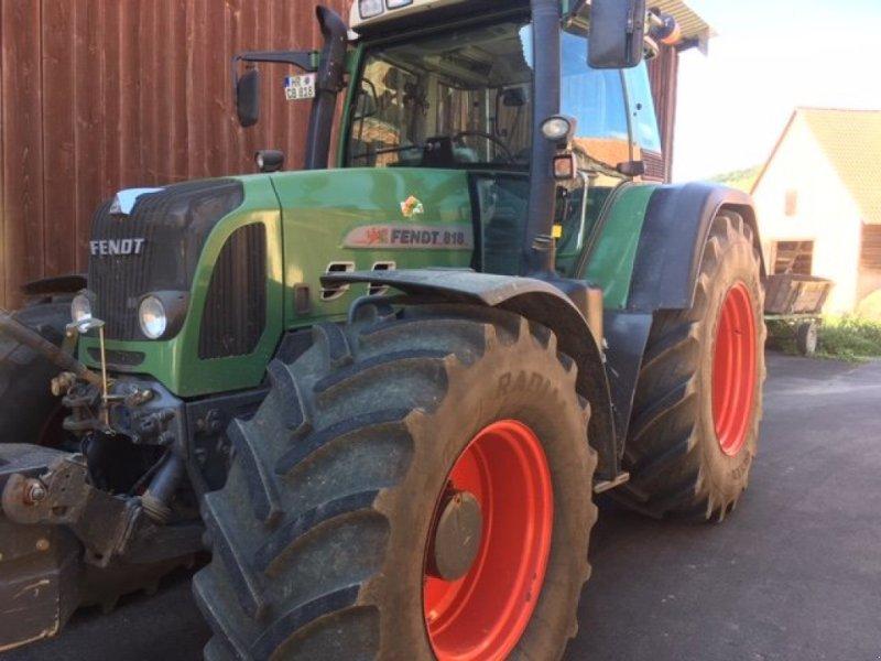 Traktor des Typs Fendt 818 Vario TMS, Gebrauchtmaschine in Homberg/Efze (Bild 2)