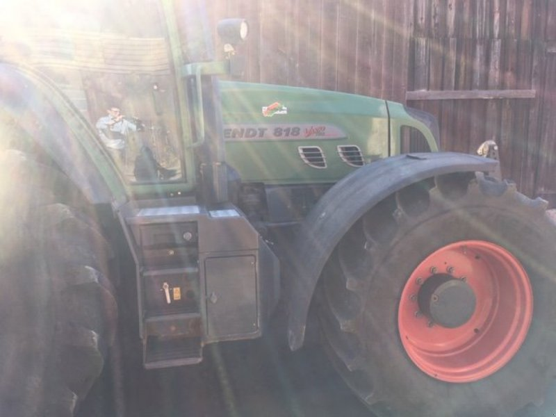Traktor des Typs Fendt 818 Vario TMS, Gebrauchtmaschine in Homberg/Efze (Bild 5)