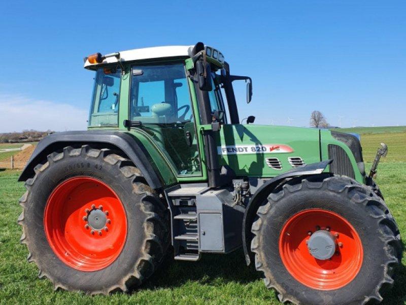 Traktor des Typs Fendt 818 Vario TMS, Gebrauchtmaschine in Nellingen (Bild 1)