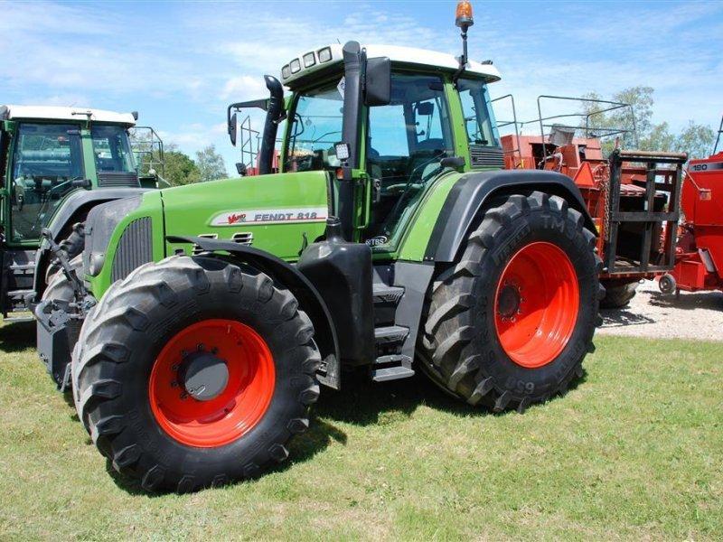 Traktor του τύπου Fendt 818TMS, Gebrauchtmaschine σε Grindsted (Φωτογραφία 1)