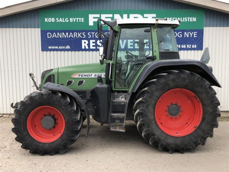 Traktor типа Fendt 820 Vario TMS med F-PTO, Gebrauchtmaschine в Rødekro (Фотография 1)