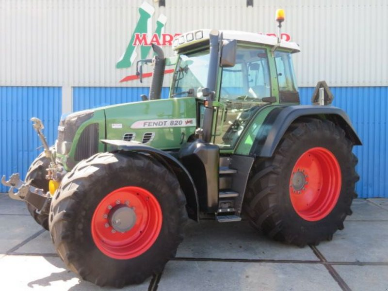 Traktor типа Fendt 820 Vario TMS, Gebrauchtmaschine в Joure (Фотография 1)
