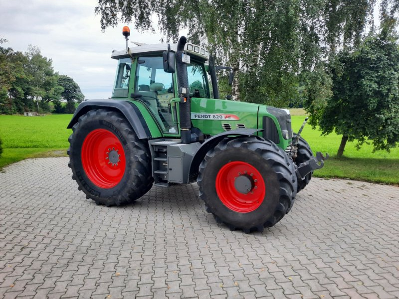 Traktor tipa Fendt 820 Vario TMS, Gebrauchtmaschine u Tirschenreuth (Slika 1)