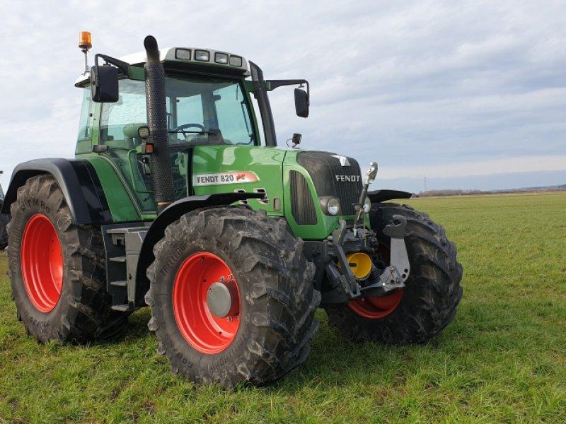 Traktor des Typs Fendt 820 Vario TMS, Gebrauchtmaschine in Dirlewang (Bild 1)