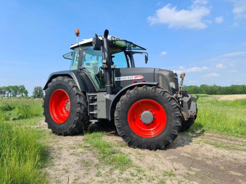 Traktor des Typs Fendt 820 Vario TMS, Gebrauchtmaschine in Almelo (Bild 3)