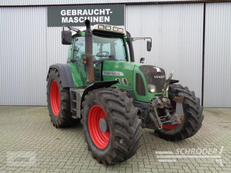 Traktor des Typs Fendt 820 Vario TMS, Gebrauchtmaschine in Ahlerstedt (Bild 1)