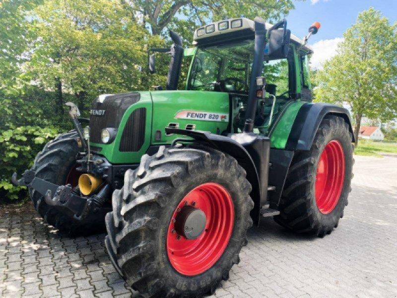 Traktor типа Fendt 820 Vario TMS, Gebrauchtmaschine в Königsbrunn (Фотография 1)