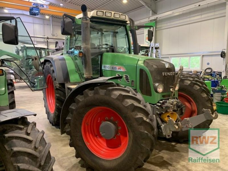 Traktor des Typs Fendt 820 Vario, Gebrauchtmaschine in Diez (Bild 1)