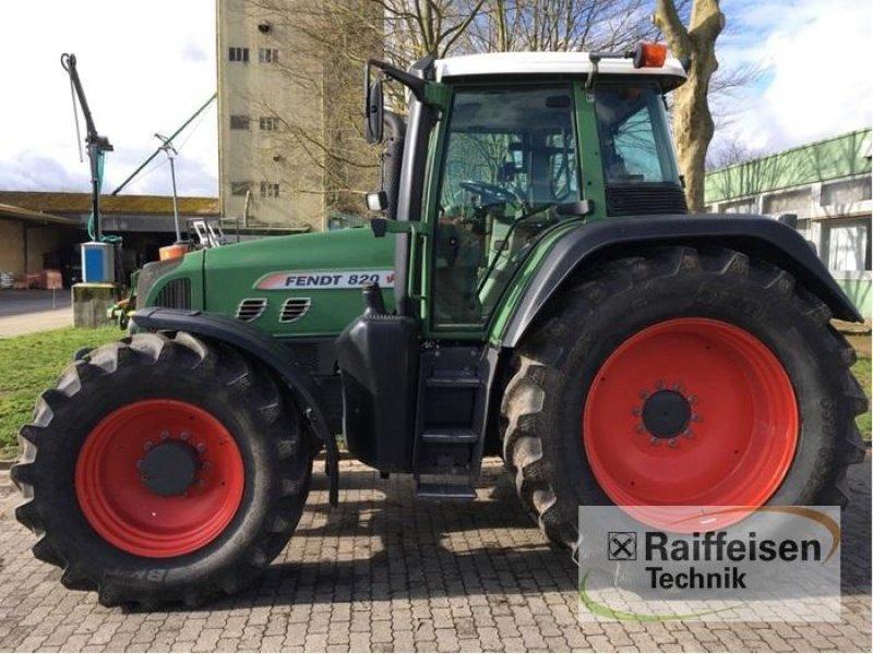 Traktor типа Fendt 820, Gebrauchtmaschine в Ilsede-Gadenstedt (Фотография 1)