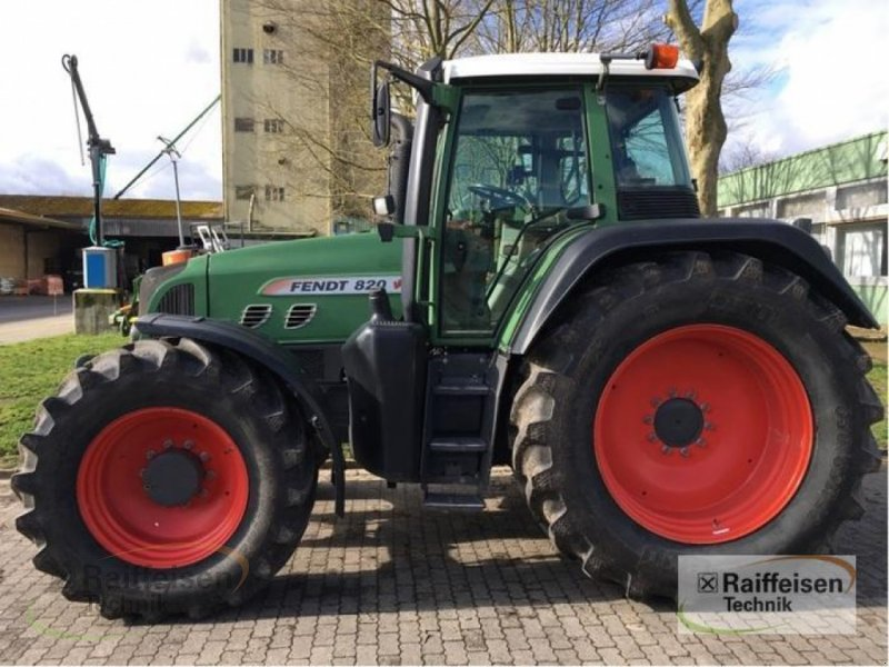 Traktor des Typs Fendt 820, Gebrauchtmaschine in Wittingen (Bild 1)