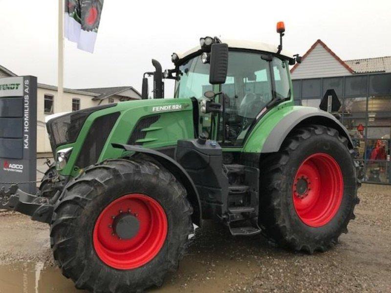 Traktor des Typs Fendt 824 S4 ProfiPlus  Frontlift og GPS-READY, Gebrauchtmaschine in Rødekro (Bild 1)