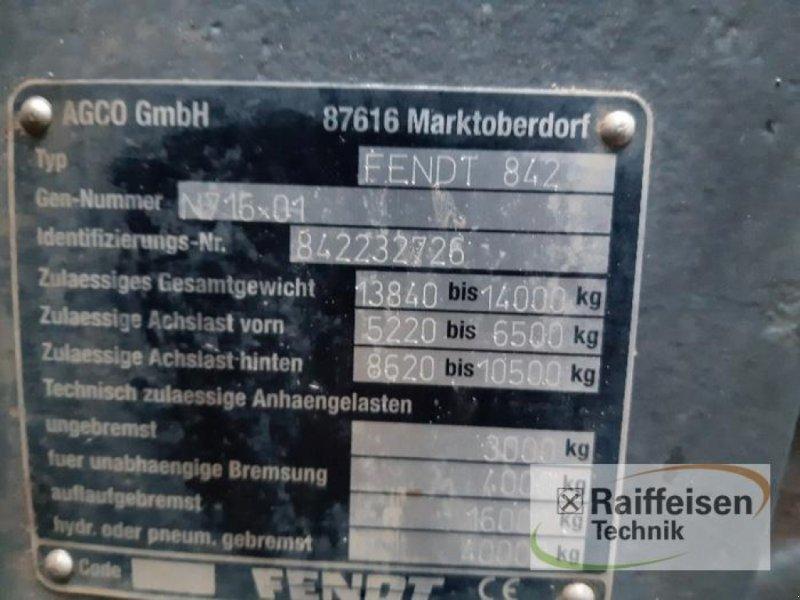 Traktor des Typs Fendt 828 Vario S4, Gebrauchtmaschine in Gnutz (Bild 8)
