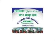 Fendt 828 Vario SCR Profi-Plus. med F-PTO Traktor