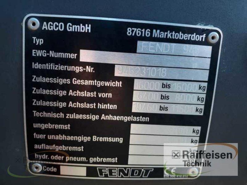 Traktor des Typs Fendt 936 Vario, Gebrauchtmaschine in Weinbergen - Bollstedt (Bild 9)