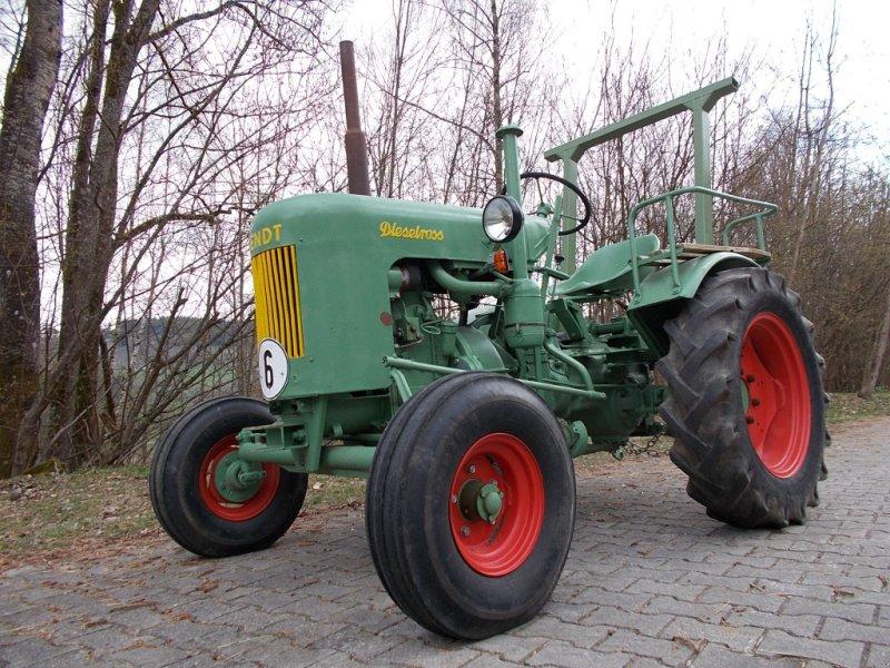 Traktor des Typs Fendt Dieselross F 15, Gebrauchtmaschine in St. Englmar (Bild 1)