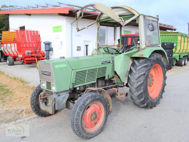 Traktor des Typs Fendt Farmer 106 S Turbomatik mit Servolenkung - läuft und fährt sehr gut - aus zweiter Hand, Gebrauchtmaschine in Burgrieden (Bild 1)