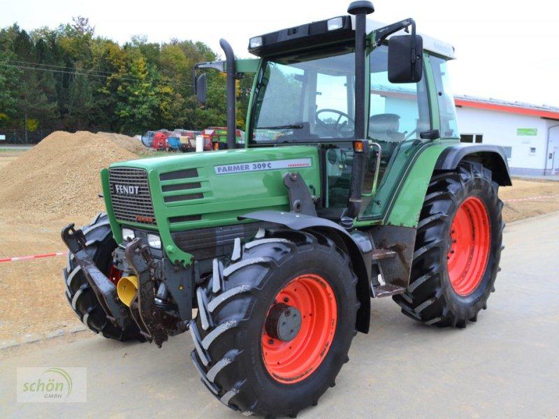 Traktor a típus Fendt Farmer 309 C mit Fronthydraulik, Frontzapfwelle und Frontladerkonsole samt Multikuppler, Gebrauchtmaschine ekkor: Burgrieden (Kép 1)