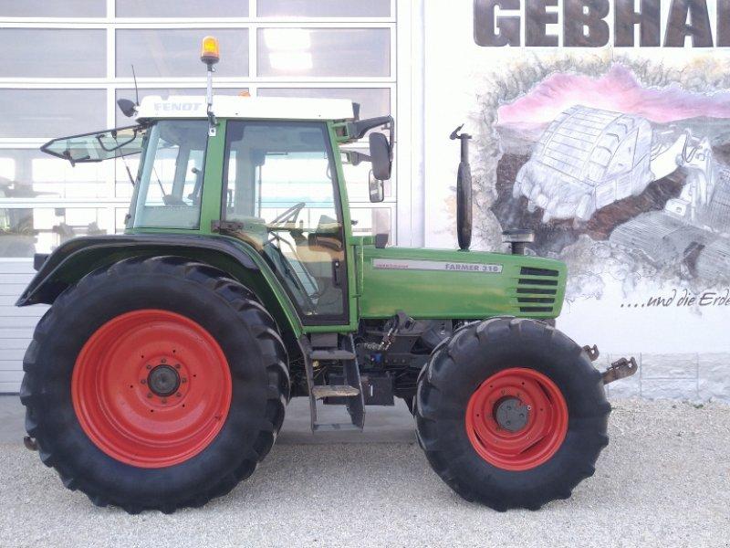 Traktor des Typs Fendt Farmer 310 Turbomatik mit Fronthydraulik Anbaukonsolen, Gebrauchtmaschine in Großschönbrunn (Bild 1)