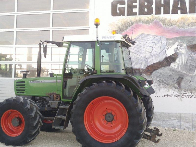 Traktor des Typs Fendt Farmer 310 Turbomatik mit Fronthydraulik Anbaukonsolen, Gebrauchtmaschine in Großschönbrunn (Bild 3)