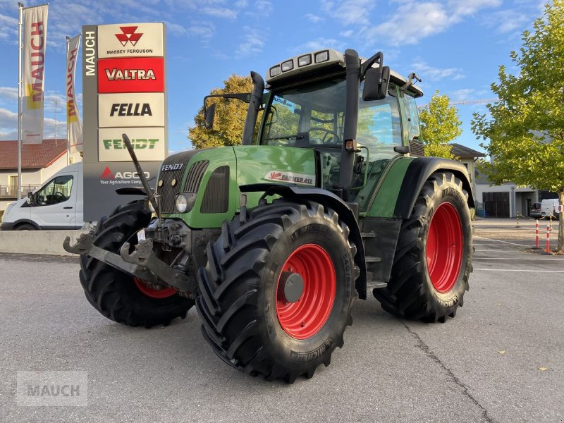 Traktor des Typs Fendt Farmer 412 Vario, Gebrauchtmaschine in Burgkirchen (Bild 1)