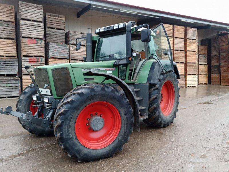 Traktor des Typs Fendt Favorit 916 Vario, Gebrauchtmaschine in Harmannsdorf-Rückersdorf (Bild 1)