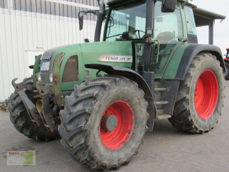 Traktor des Typs Fendt Vario 411, Gebrauchtmaschine in Risum-Lindholm (Bild 4)
