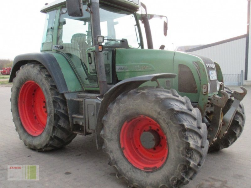 Traktor des Typs Fendt Vario 411, Gebrauchtmaschine in Risum-Lindholm (Bild 1)