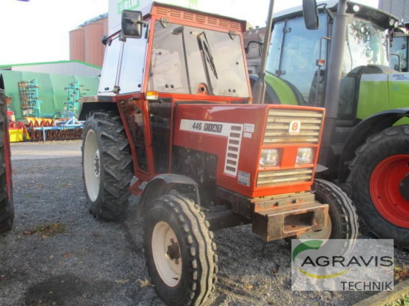 Traktor des Typs Fiat 446 DT, Gebrauchtmaschine in Lage (Bild 1)