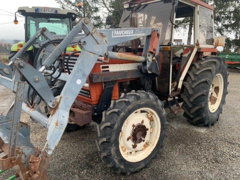 Traktor des Typs Fiat 566DTL, Gebrauchtmaschine in VERNOUX EN VIVARAIS (Bild 1)