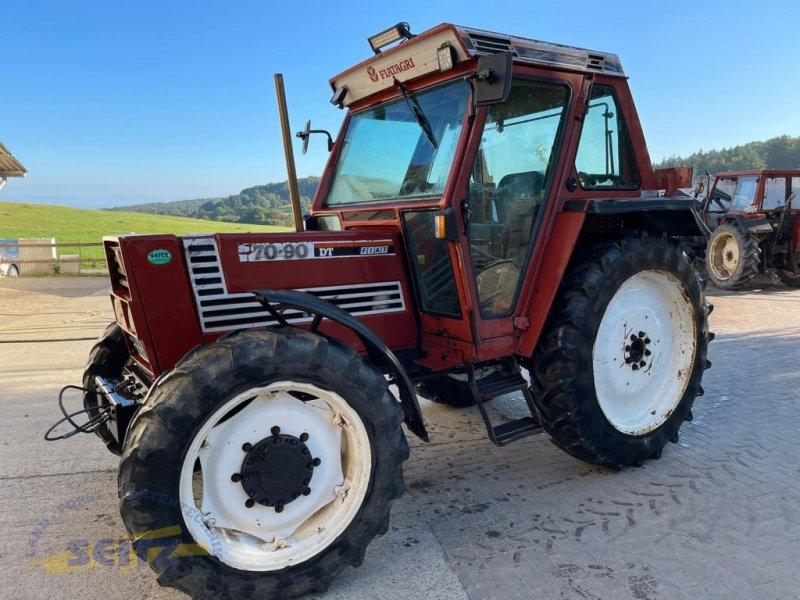Traktor tipa Fiat 70-90 DT, Gebrauchtmaschine u Lindenfels-Glattbach (Slika 1)