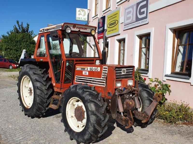 Traktor des Typs Fiat 80-90 DT, Gebrauchtmaschine in Brunn an der Wild (Bild 1)