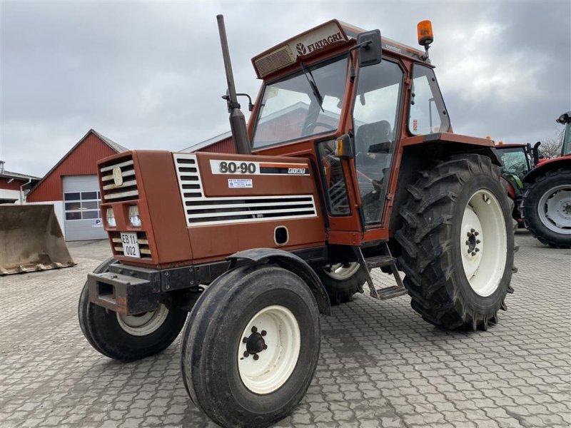 Traktor des Typs Fiat 80-90 FLOT STAND!, Gebrauchtmaschine in Aalestrup (Bild 1)