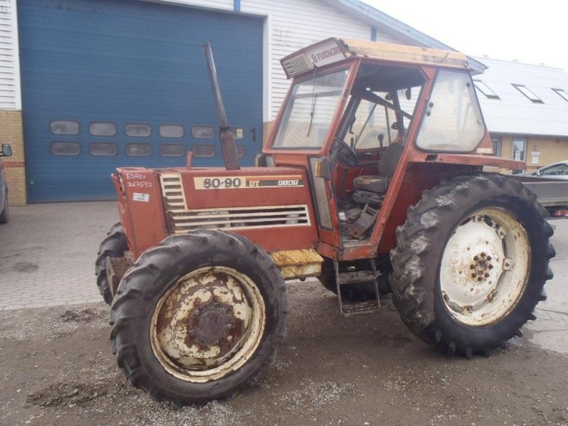 Traktor des Typs Fiat 80-90, Gebrauchtmaschine in Viborg (Bild 1)