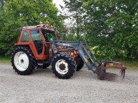 Fiat 85-90 4wd med Frontlæsser og vendegear Traktor