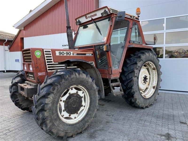 Traktor des Typs Fiat 90-90 KUN 4000 TIMER!, Gebrauchtmaschine in Aalestrup (Bild 1)