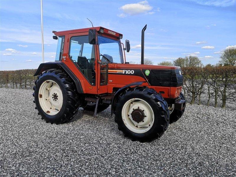 Traktor typu Fiat F100 Winner m/turbo. 4wd - kun 5522 timer!, Gebrauchtmaschine w Gredstedbro (Zdjęcie 1)